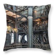Industrial 8 Throw Pillow
