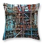 Industrial Disease Throw Pillow