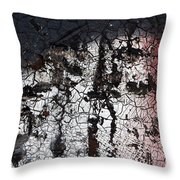 Industrial Painting Throw Pillow