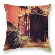 Industry In Disarray Throw Pillow
