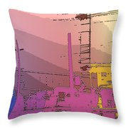 Industry Six Throw Pillow
