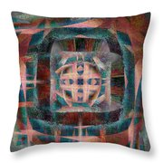 Infinite Scrollwork Throw Pillow by Christopher Gaston