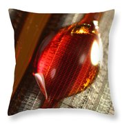 Inkjet Printer Head Throw Pillow by Ted Kinsman