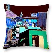 Inner City Throw Pillow