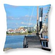 Inner Harbour2 Throw Pillow