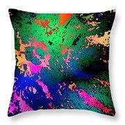 Inner Space Throw Pillow