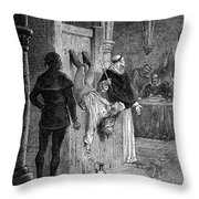 Inquisition: Torture Throw Pillow