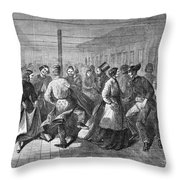 Insane Asylum: Dance Throw Pillow