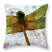 Insect Art - Voice Of The Heart Throw Pillow