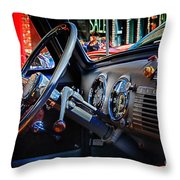 Inside Chevy Throw Pillow