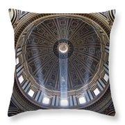 Inside St. Peter's Basicilia Throw Pillow