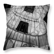 Inside The Balloon Two Throw Pillow