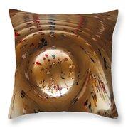 Inside The Bean Throw Pillow