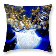 Inside The Crystal 1 Throw Pillow