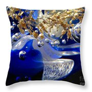 Inside The Crystal 3 Throw Pillow