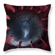 Inside The Diffuser Section Throw Pillow