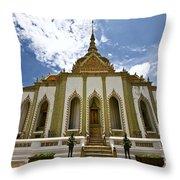 Inside The Grand Palace Bangkok Image 2 Throw Pillow