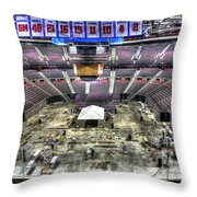 Inside The Palace Of Auburn Hills 2 Throw Pillow