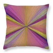 Inside The Rainbow Throw Pillow
