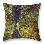Inside The Volcano Throw Pillow