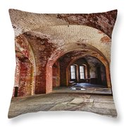Inside The Walls Throw Pillow by Garry Gay