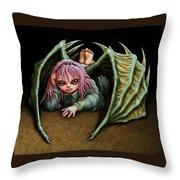 Insouciant Throw Pillow