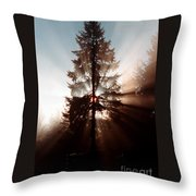 Inspiration Tree Throw Pillow