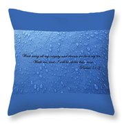 Inspirations 15 Throw Pillow