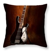 Instrument - Guitar - High Strung Throw Pillow