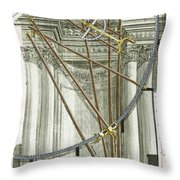 Instruments From A Viennese Observatory Throw Pillow