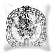 Integrae Naturae, 17th Century Throw Pillow