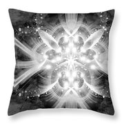 Intelligent Design Bw 2 Throw Pillow