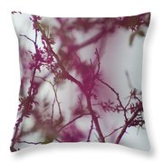 Inter-vined Throw Pillow