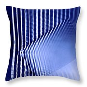 Interference Waves Throw Pillow