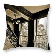 Interior Elegance Lost In Time Throw Pillow by DigiArt Diaries by Vicky B Fuller