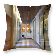 Interior Of A Hospital Throw Pillow