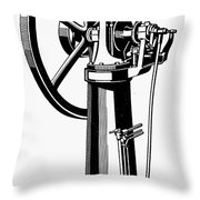 Internal Combustion Engine Throw Pillow