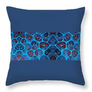 Internal Vision Design Throw Pillow