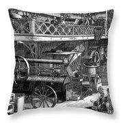 International Exhibition Throw Pillow