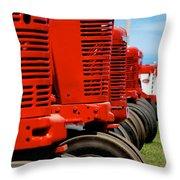 International Farmall  Throw Pillow