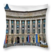 Interstate Commerce Commission Throw Pillow