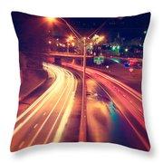Interstate I-240 Throw Pillow