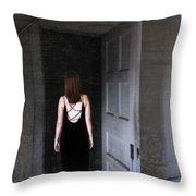 Into The Dark Throw Pillow