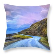 Into The Great Beyond Throw Pillow