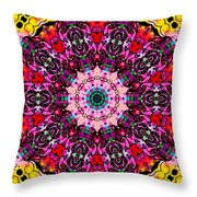 Introspection 3 Throw Pillow