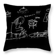 Intruder Throw Pillow