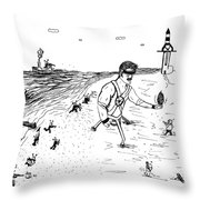 Invasion Mini Series 1-2 Throw Pillow