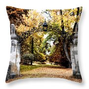 Inver House - Radnor Pa Throw Pillow