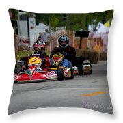 Inverness Grand Prix Throw Pillow