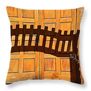 Invisable Keyboard Throw Pillow